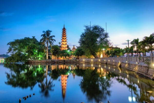 Vietnam Sehenswürdigkeiten HaNoi Tran Quoc Tempel min e1592756781197