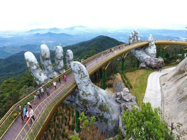 Ba Na Brücke Danang