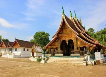 Laos Luang Prabang Tempel e1595675448882
