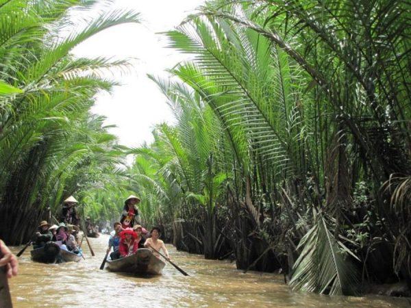 Vietnam Rundreise Mekong Delta Boottour