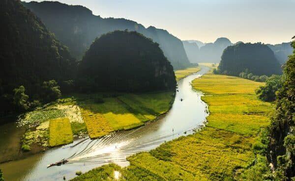 beste Reisezeit Vietnam