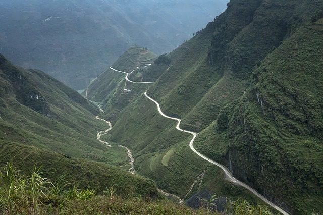 Ma Phuc Pass in Cao Bang