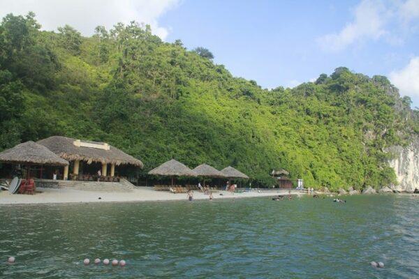Halong Bucht Insel Soi Sim
