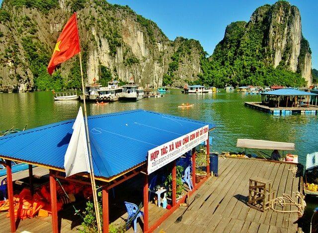 Halong Bucht Lang Van Chai