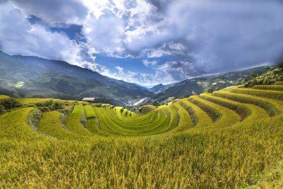 Vietnam Sapa im Herbst