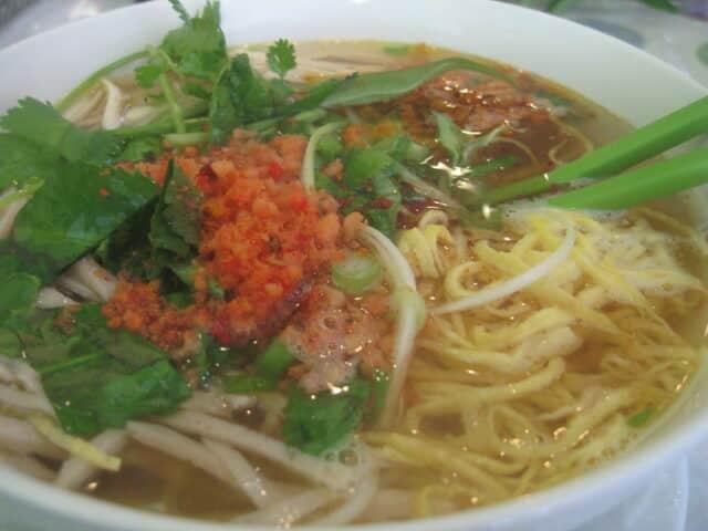 Bun Thang Hanoi - Reisnudel Thang