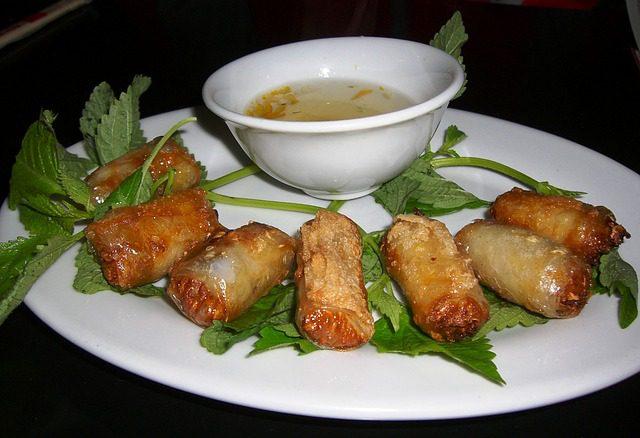 Hanoi-Essen-Nem-Frühlingsrolle.