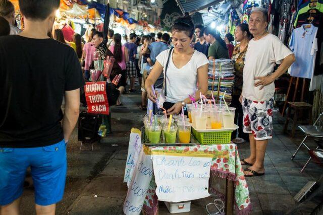 Hanoi Nachtsleben