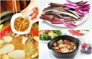 Authentische Küche Mekongdelta