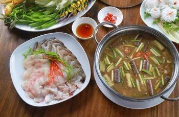Hotpot mit Fischsauce