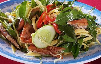 Essen am Mekongdelta
