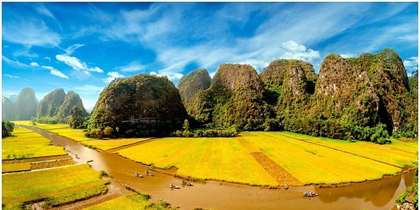 Bootstour in Ninh Binh