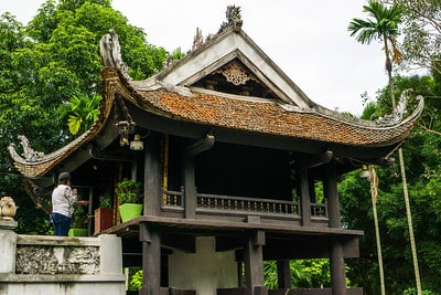 ha-noi-hauptstadt-vietnam-Einsäule Pagode