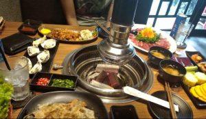Essen und Küche in Saigon Stadt