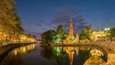 Tran Quoc Tempel in Hanoi