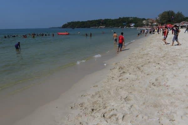 Kambodscha Ochheuteal Strand