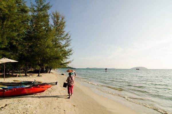 Kambodscha Otres beach