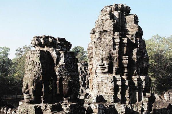 Kambodscha Sehenswürdigkeiten Bayon Tempel