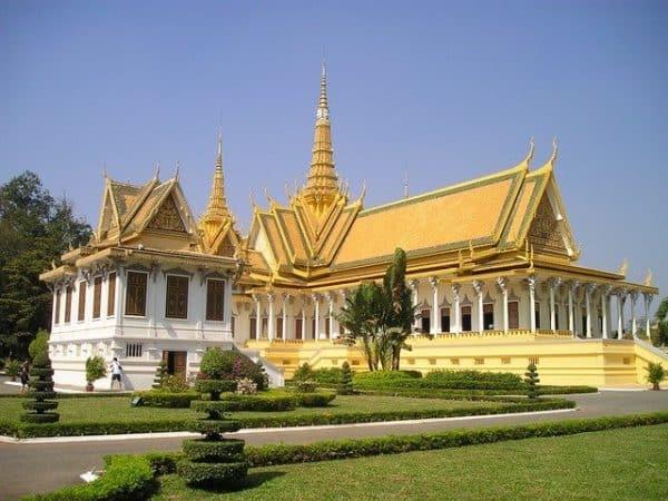 kambodscha tourismus könig palast