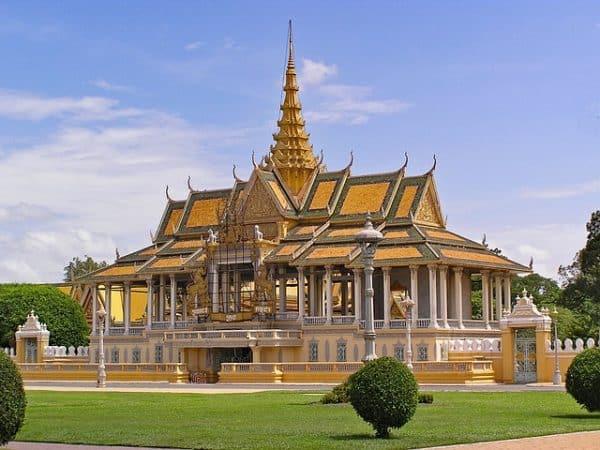 Silberpagode Kambodscha