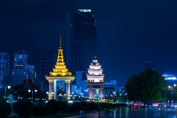 kambodscha tourismus phnom penh