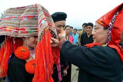 Hochzeit von Rote Dao in Sapa