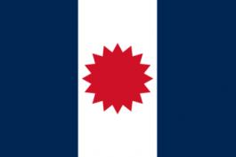 Flagge der Autonomen Thai Föderation