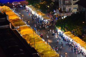 Saigon Nacht Markt