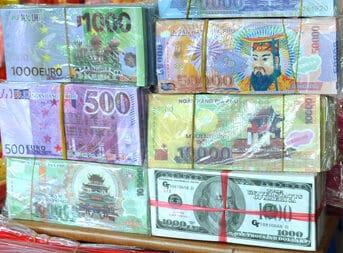 Falsche Vietnam Währung