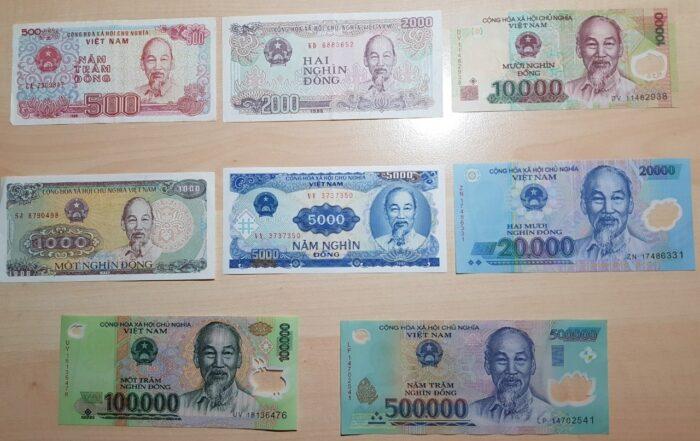 Währung Vietnam - vietnamesisches Geld