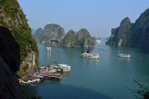 Halong Bucht in Hai Phong