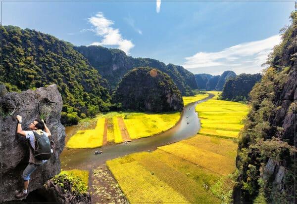 Ninh Binh - Tam Coc Höhle