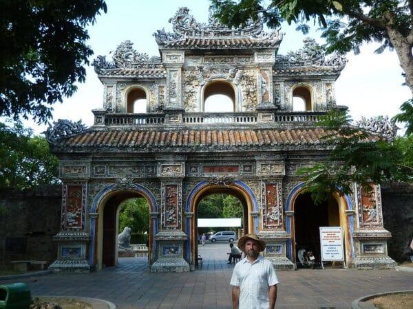 Vietnam Städte: Hue Kaiserstadt