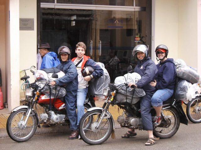 Da Lat Anreise mit Motorroller