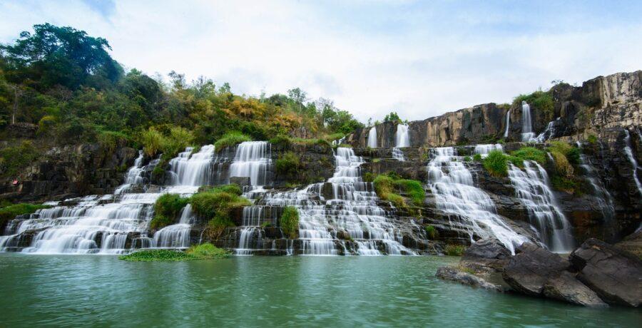 Pongour Waterfall in Đà Lạt
